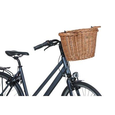 Basil Bremen Wicker KF - Fahrradkorb - vorne - natur