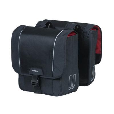 Basil Sport Design - doppelte Fahrradtasche - 32L - schwarz