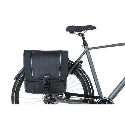 Basil Sport Design - dubbele fietstas - 32 liter- zwart