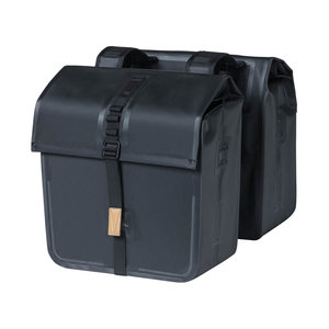 Urban Dry - double bicycle bag - black