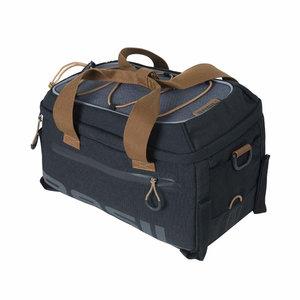 Miles - bagagedragertas - zwart/grijs