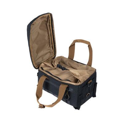 Basil Miles - trunkbag - 7 liter - black/grey