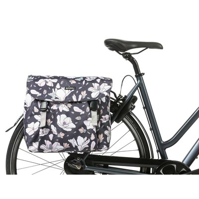 Basil Magnolia - double bicycle bag - 35 liter - pastel powders