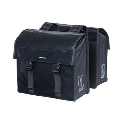 Basil Urban Load - double bicycle bag - 48-53 liter - black