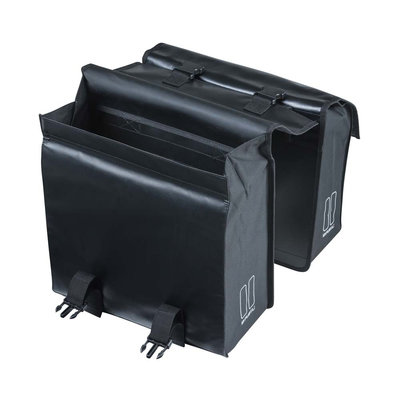 Basil Urban Load - dubbele fietstas - 48-53 liter - zwart