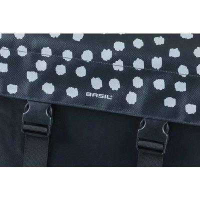 Basil Urban Load - Doppeltasche - 48-53L - schwarz mit Reflec