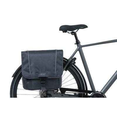Basil Sport Design - doppelte Fahrradtasche - 32 Liter - graphite