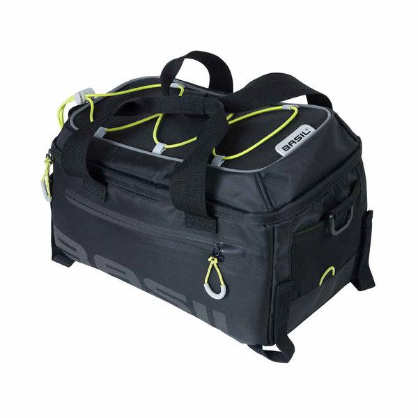 Miles - Gepäckträgertasche - schwarz