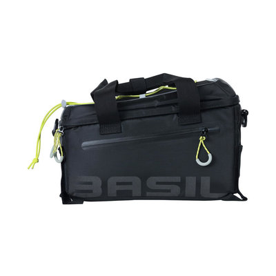 Basil Miles - Gepäckträgertasche - 7 Liter - schwarz