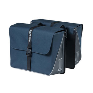 Forte - double bicycle bag - blue
