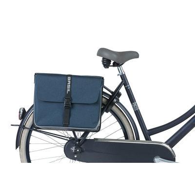 Basil Forte - dubbele fietstas - 35 liter - blauw/zwart