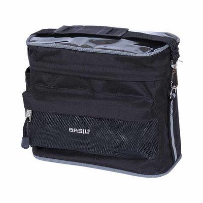Basil Mali - stuurtas - 8 liter - zwart