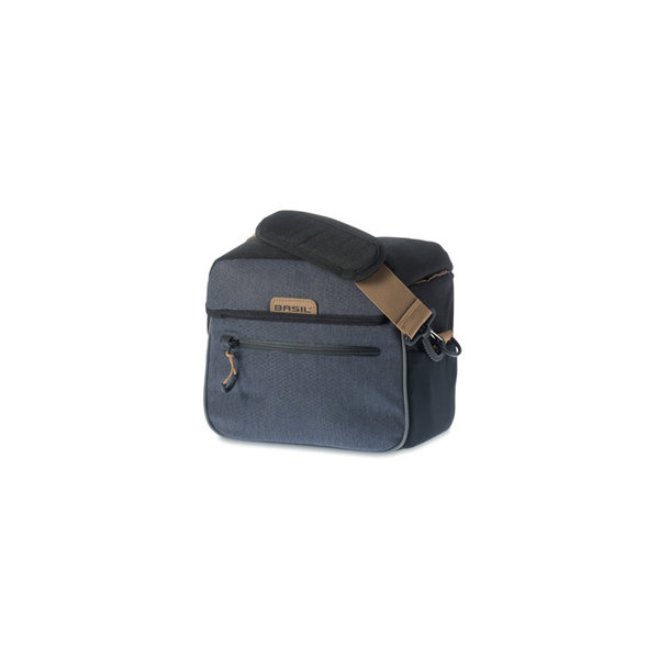 Miles - handlebar bag BE/KF - black/grey
