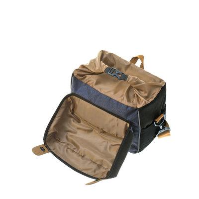 Basil Miles - handlebar bag BE/KF - 6 liter - black/grey
