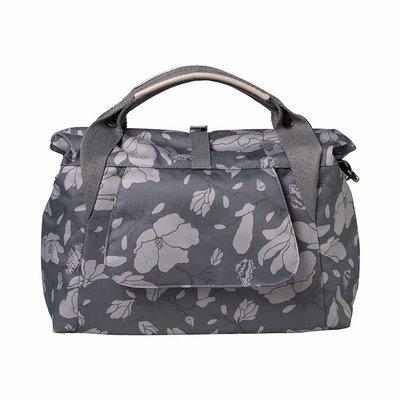 Basil Magnolia - city bicycle bag - 7 liter - blackberry