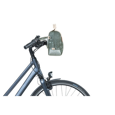 Basil Bohème - city handlebar bag KF - 8 Liter - green