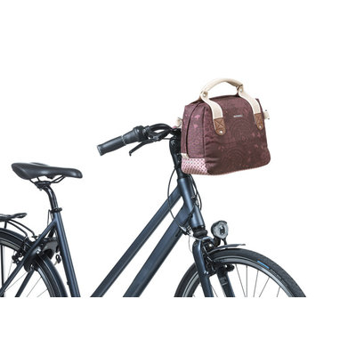 Basil Bohème - city handlebar bag KF - 8 liter - red
