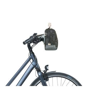 Basil Bohème - city handlebar bag KF - 8 liter - graphite
