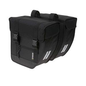 Basil Tour - dubbele fietstas - 26 liter - zwart