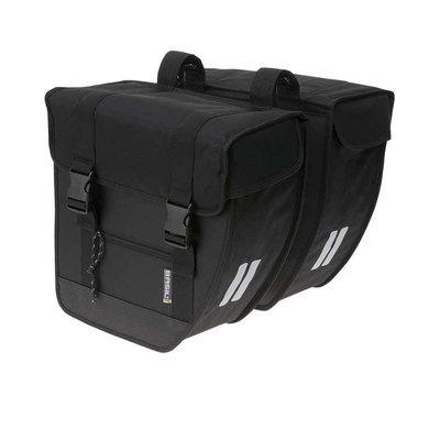 Basil Tour – double bicycle bag – 26 liter -black