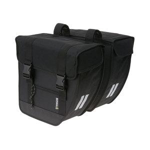 Basil Tour XL - dubbele fietstas - 40 liter - zwart