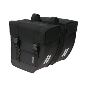 Tour XL - double bicycle bag - black