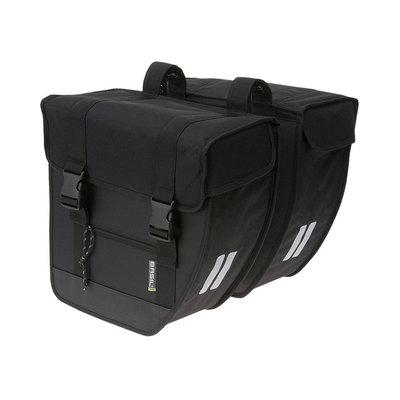 Basil Tour XL – doppelte Fahrradtasche - 40 Liter - schwarz