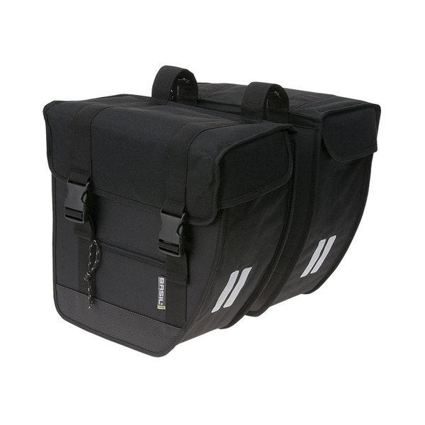 Tour XL - double bicycle bag - black