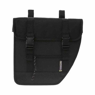 Basil Tour XL - double bicycle bag - 40 liter black