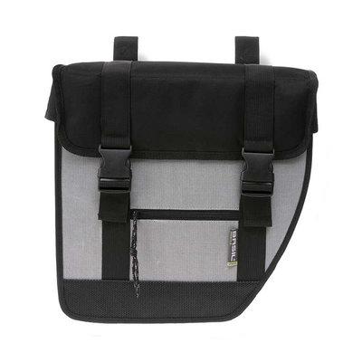 Basil Tour XL - double bicycle bag - 40 liter - black/silver