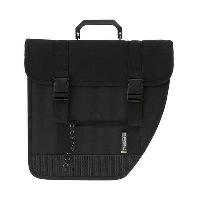 Basil Tour Right – single bicycle bag – 17 liter - black