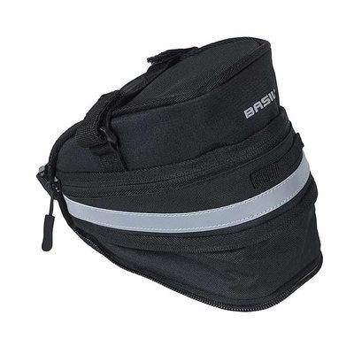 Basil Mada – saddle bag - 1 liter - black
