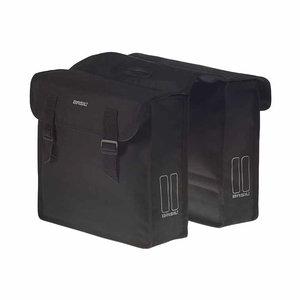 Basil Mara – doppelte Fahrradtasche –  26 Liter- schwarz