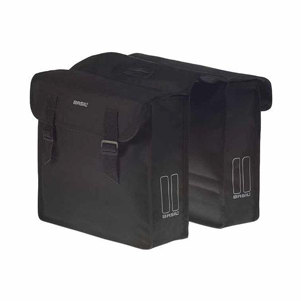 Mara - doppelte Fahrradtasche - schwarz