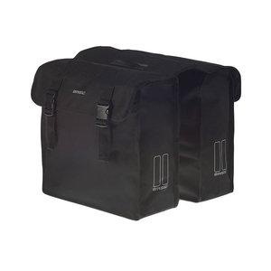 Basil Mara XL - dubbele fietstas - 35 liter - zwart