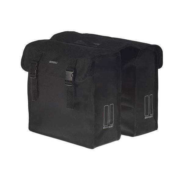 Mara XL - dubbele fietstas - zwart