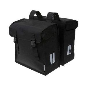 Mara XXL - double bicycle bag - black