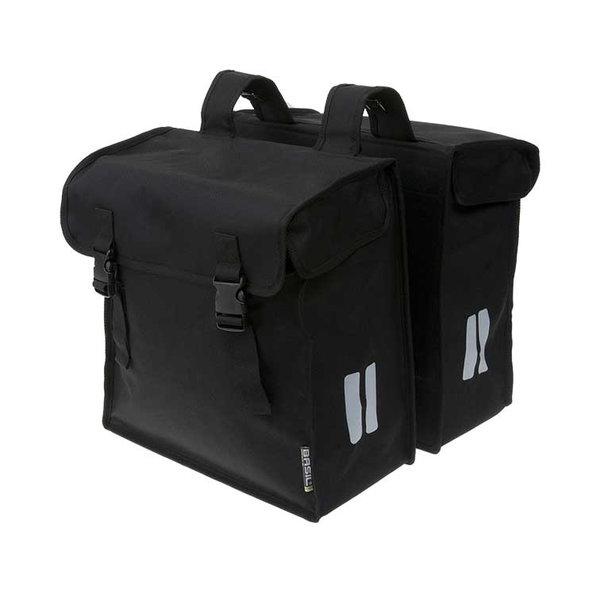 Mara XXL - doppelte Fahrradtasche - schwarz