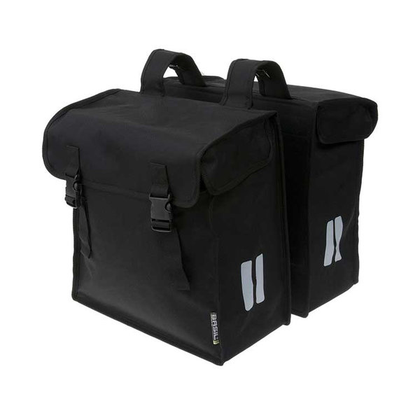 Mara XXL - double bicycle bag - black
