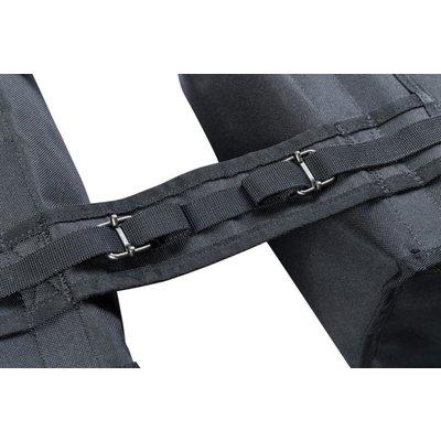 Basil Mara XXL – doppelte Fahrradtasche – 47 Liter - schwarz