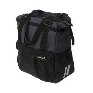 Basil Shopper XL – bicycle shopper - 20 liter - black