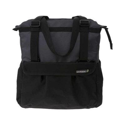 Basil Shopper XL – Fahrradshopper – 20 Liter - schwarz