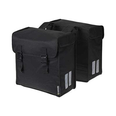 Basil Mara 3XL – doppelte Fahrradtasche – 52 Liter - schwarz