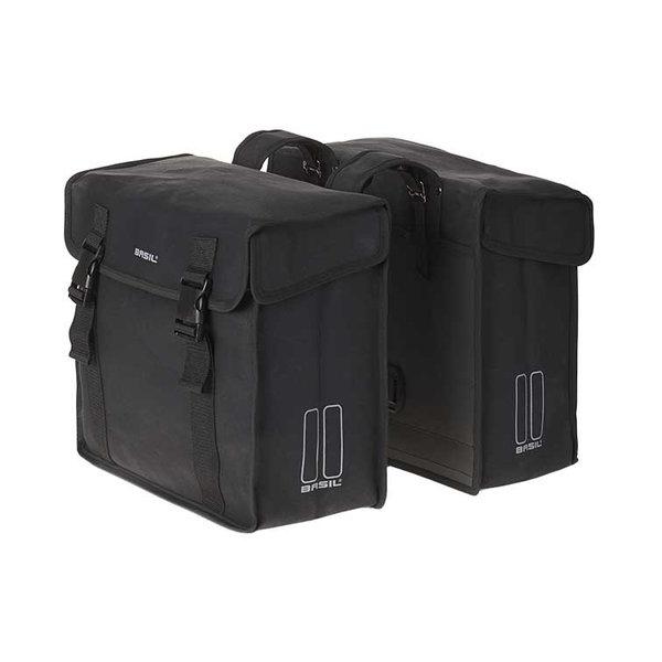 Kavan - dubbele fietstas - zwart