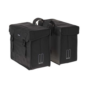 Basil Kavan XL - doppelte Fahrradtasche - 65 Liter - schwarz
