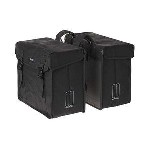Kavan XL - double bicycle bag - black