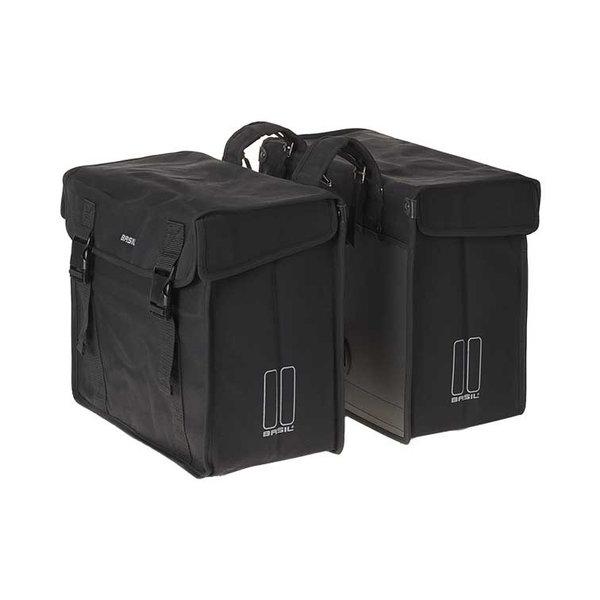 Kavan XL - dubbele fietstas - zwart