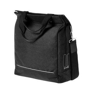 Urban Fold - cross body bicycle bag -  black