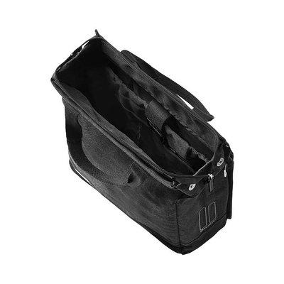 Basil Urban Fold - crossbody fietstas - 20 liter zwart