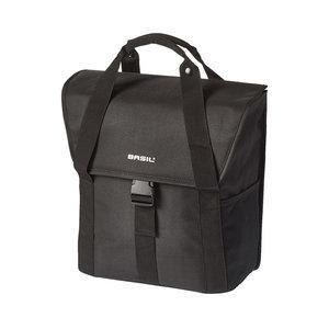 Basil GO - bicycle single bag - 16 liter - black